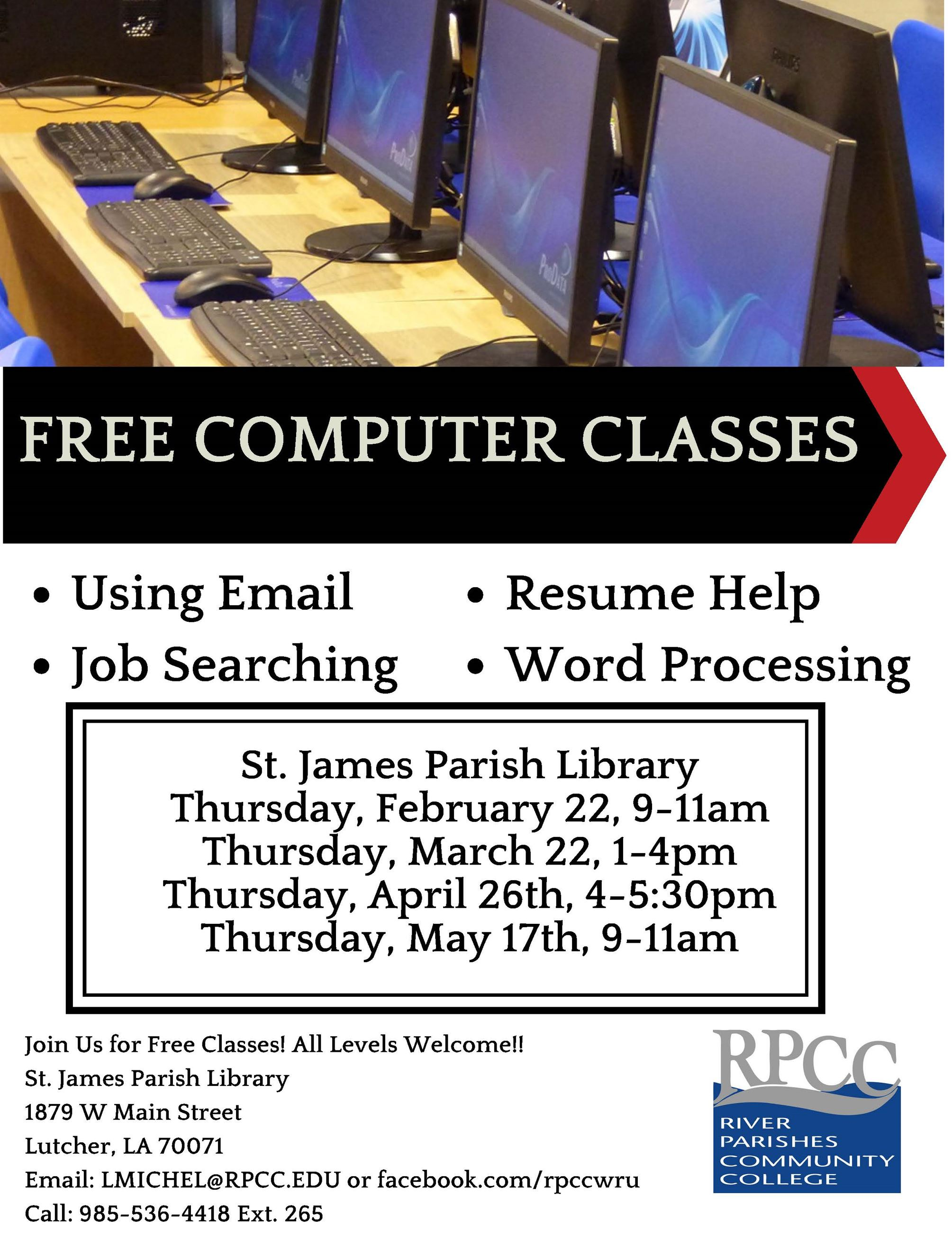 Library Computer Class