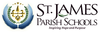 St. James Parish Schools Logo